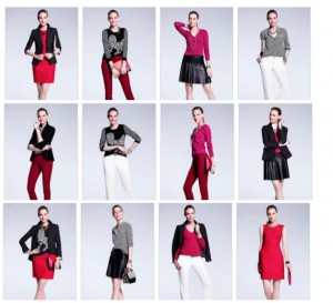 8 pieces:12 outfits
